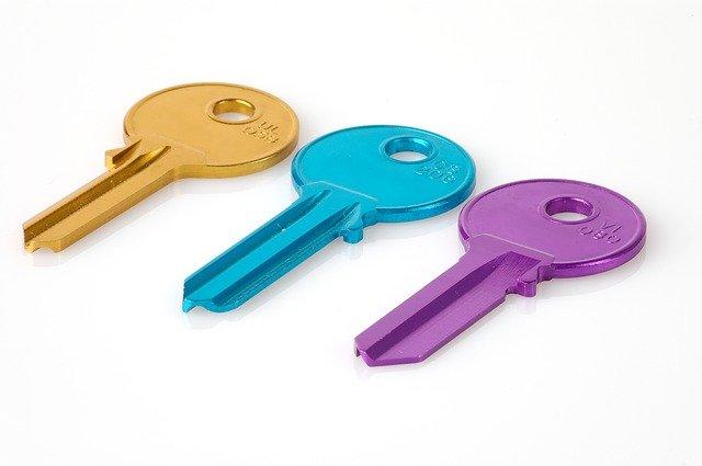 clé boite aux lettres