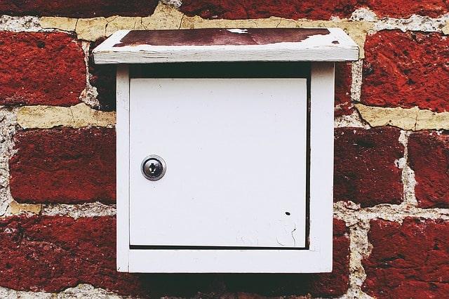 boite aux lettre sans clé